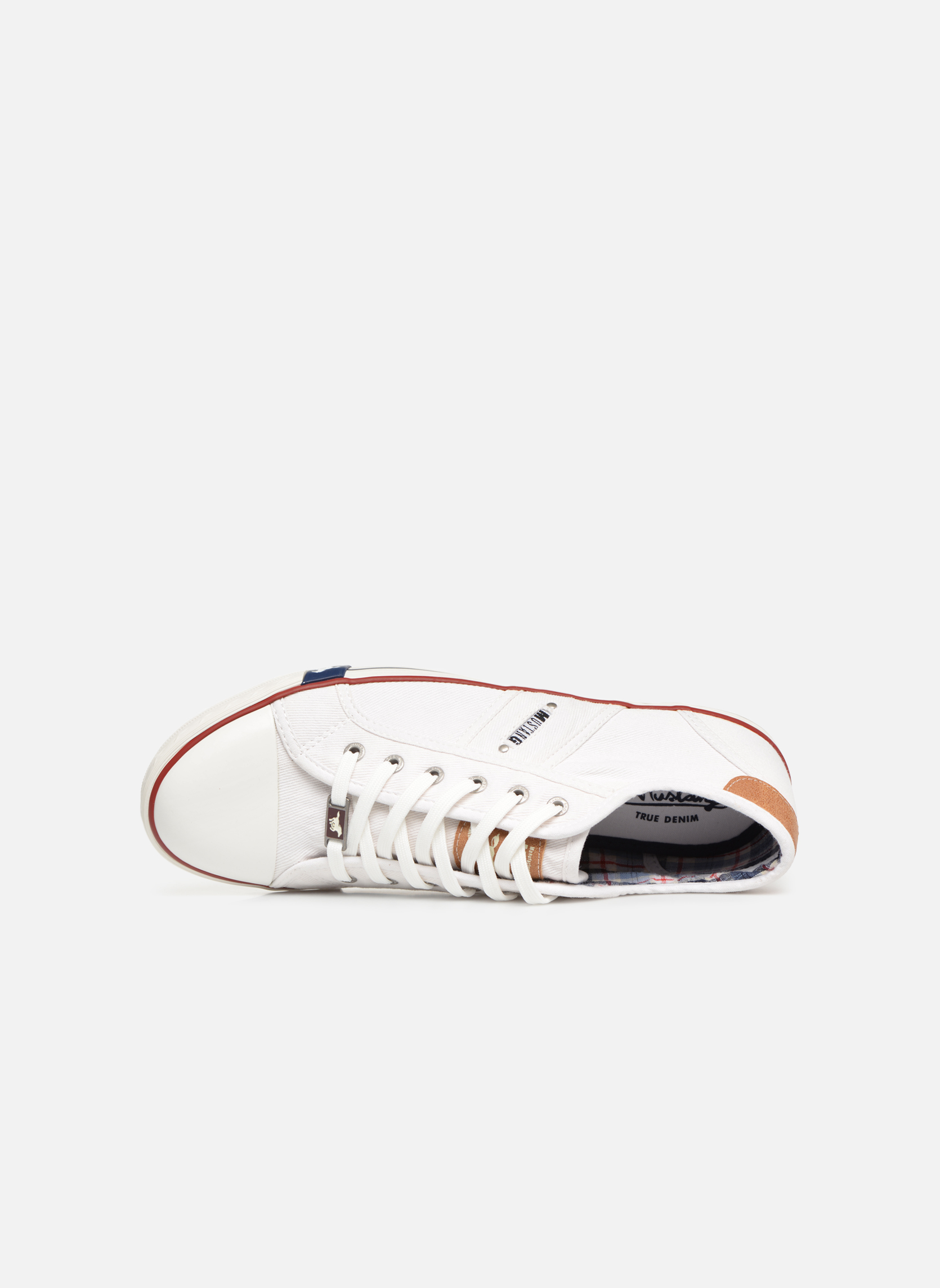 Sneakers Mustang shoes Tista Wit links