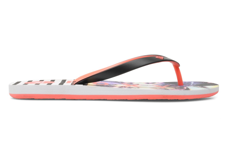 Slippers Roxy Tahiti V Multicolor achterkant