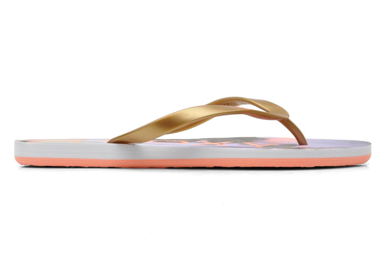 Slippers Roxy Tahiti V Goud en brons achterkant