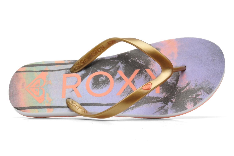 Slippers Roxy Tahiti V Goud en brons links