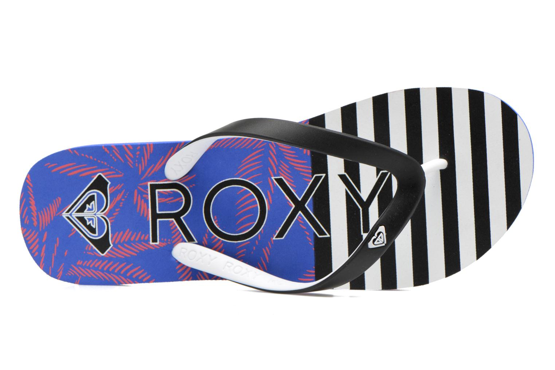 Slippers Roxy Tahiti V Zwart links