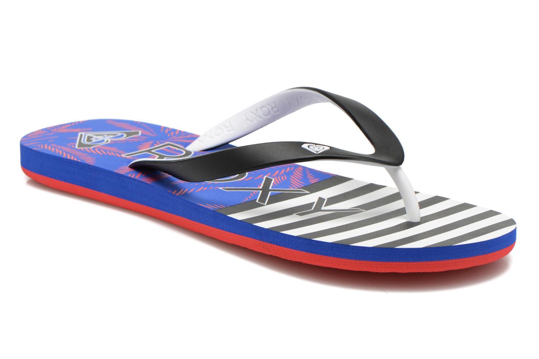 Slippers Roxy Tahiti V Zwart detail