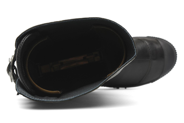 Botas Pataugas Bonito Negro vista lateral izquierda