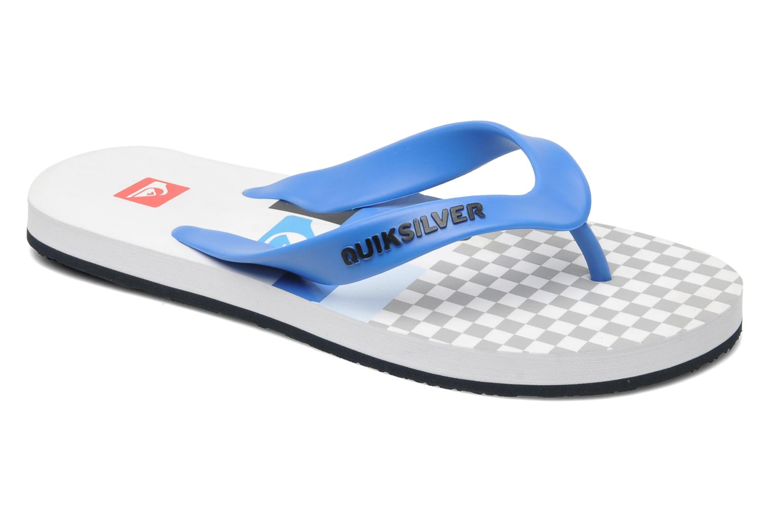 Slippers Quiksilver Maldive Bank On It Wit detail
