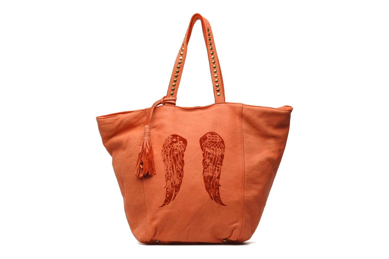 Sac à main en cuir BERENICE cuir orange wl8LqV3