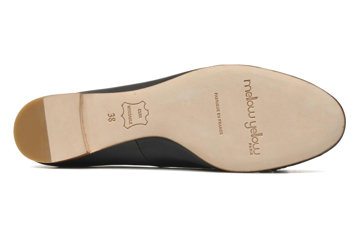 Ballet pumps Mellow Yellow Nirvana Black view from above
