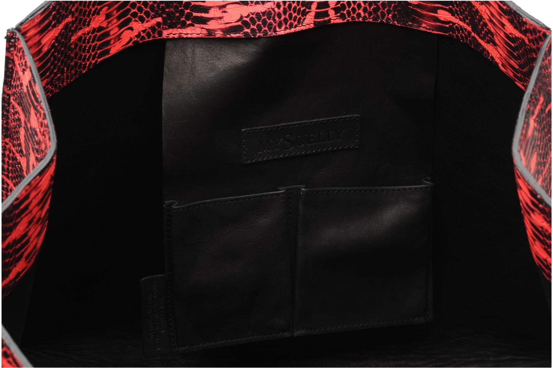 Handtassen MySuelly Jo Roze achterkant