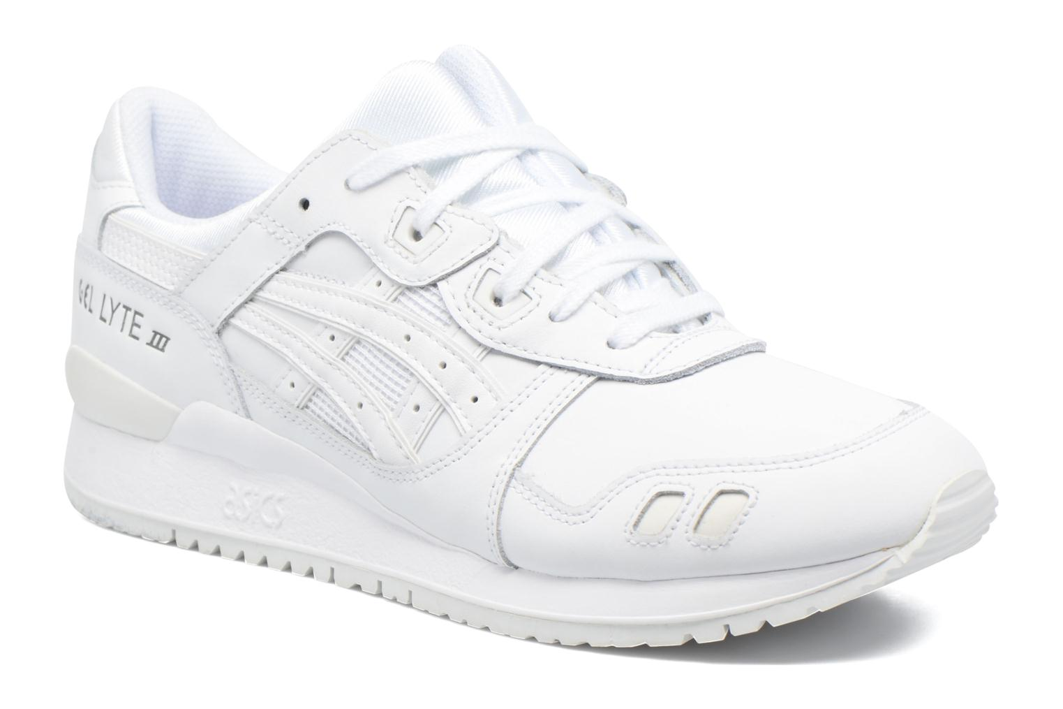 Trainers Asics Gel-lyte III White detailed view/ Pair view