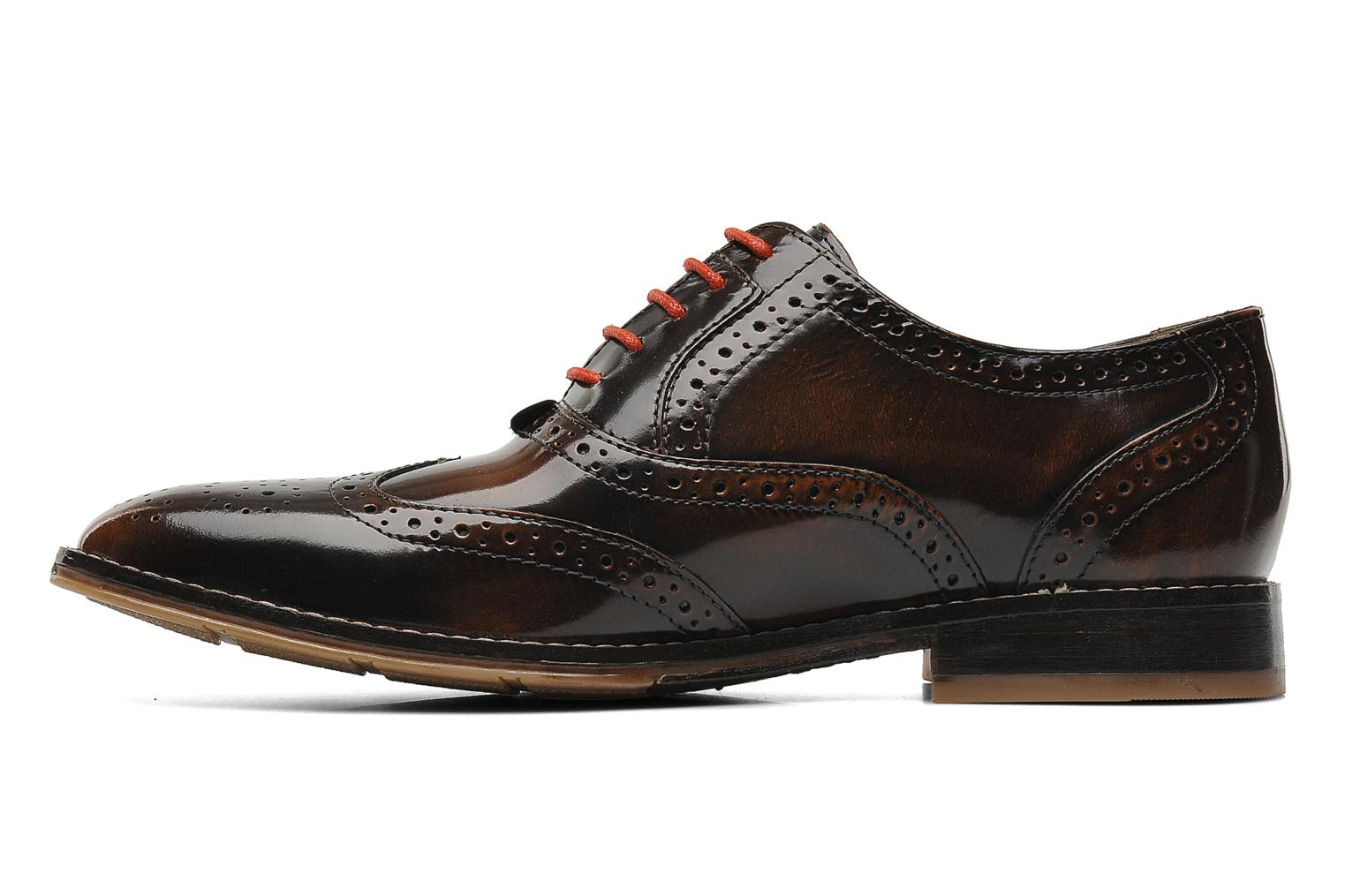 Style Brogue Tan brushed leather