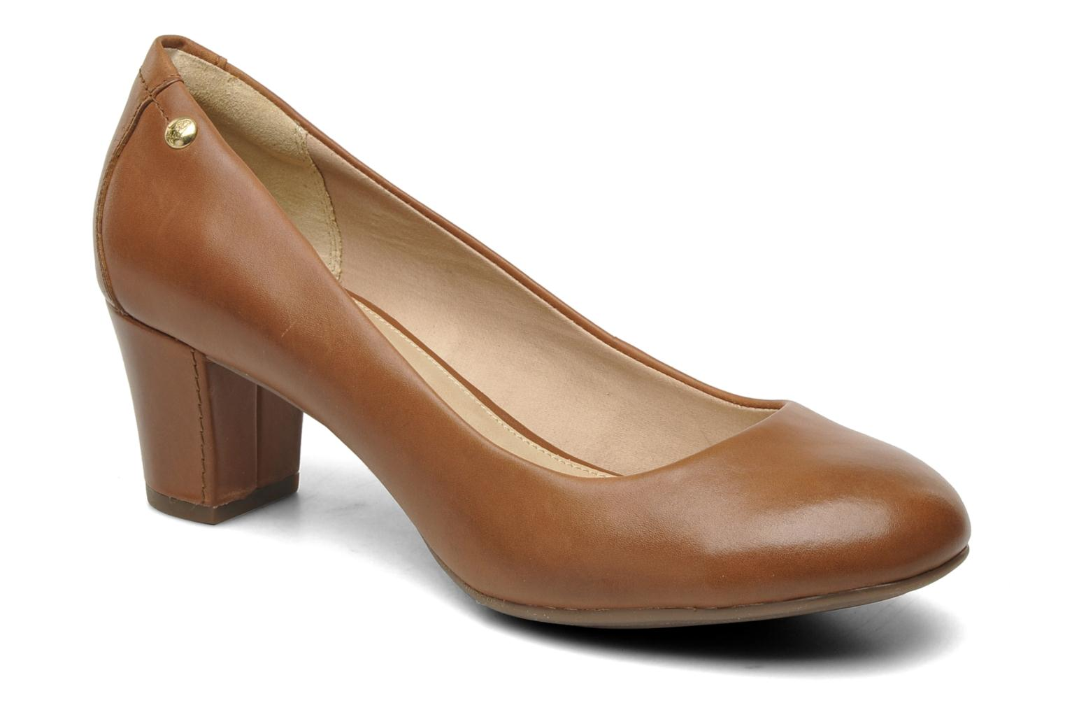 Imagery Pump Tan Leather