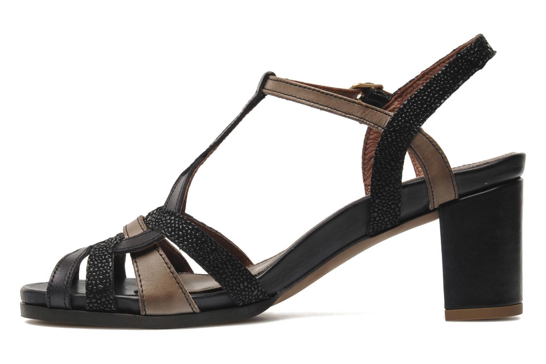 Sandales et nu-pieds Neosens Moll 484 Noir vue face
