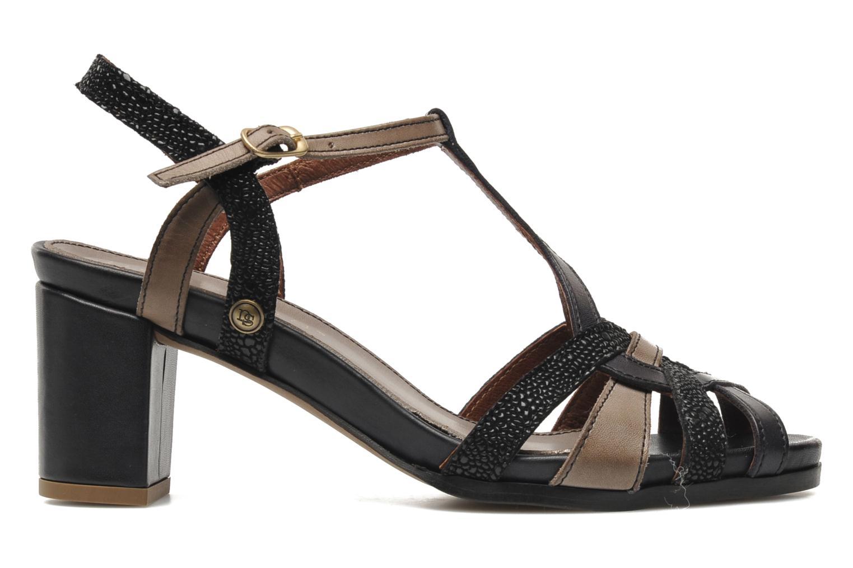 Sandalen Neosens Moll 484 schwarz ansicht von hinten