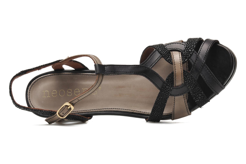 Sandales et nu-pieds Neosens Moll 484 Noir vue gauche