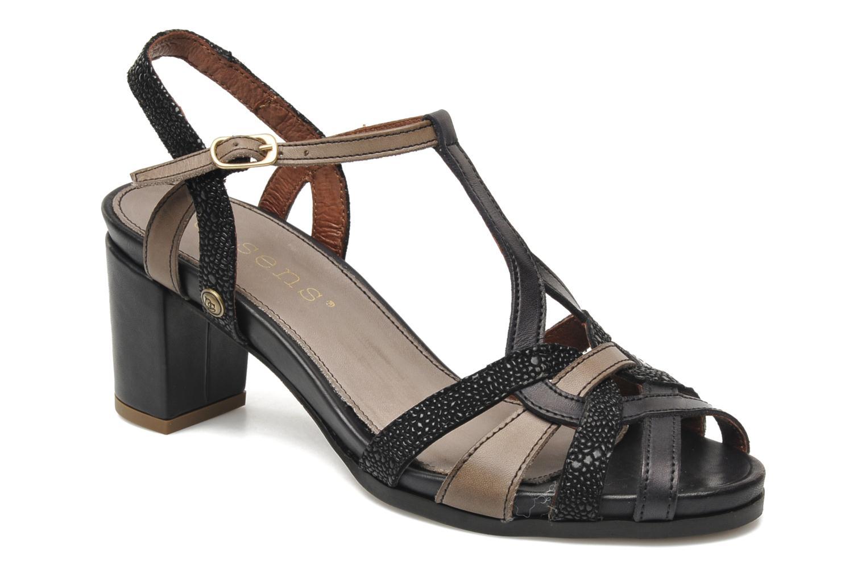 Sandaler Neosens Moll 484 Sort detaljeret billede af skoene