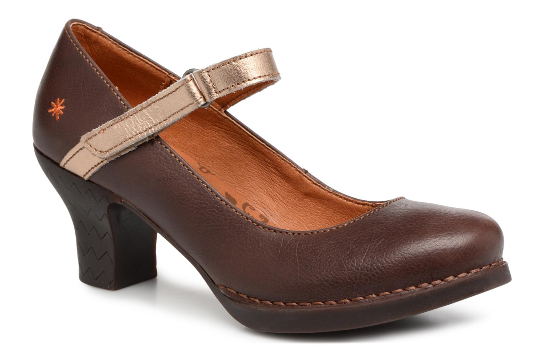 Zapatos de hombres y mujeres de moda casual Art Harlem de 933 (Marrón) - Zapatos de Harlem tacón en Más cómodo ae2490