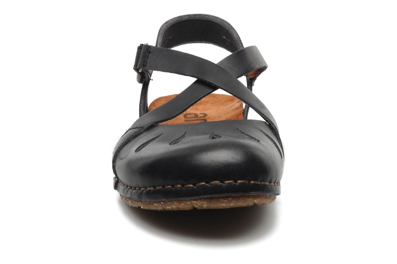 Sandales et nu-pieds Art Creta 449 Noir vue portées chaussures