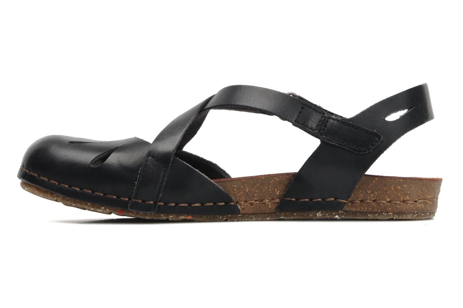 Sandals Art Creta 449 Black front view