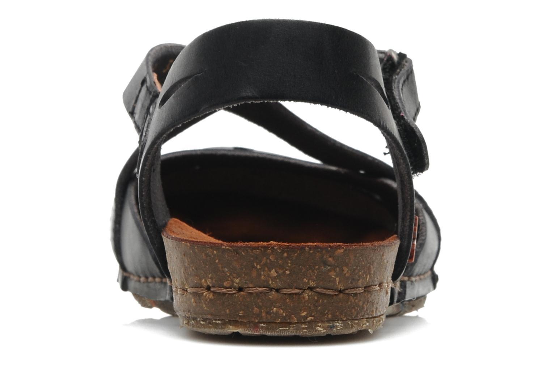 Sandales et nu-pieds Art Creta 449 Noir vue droite