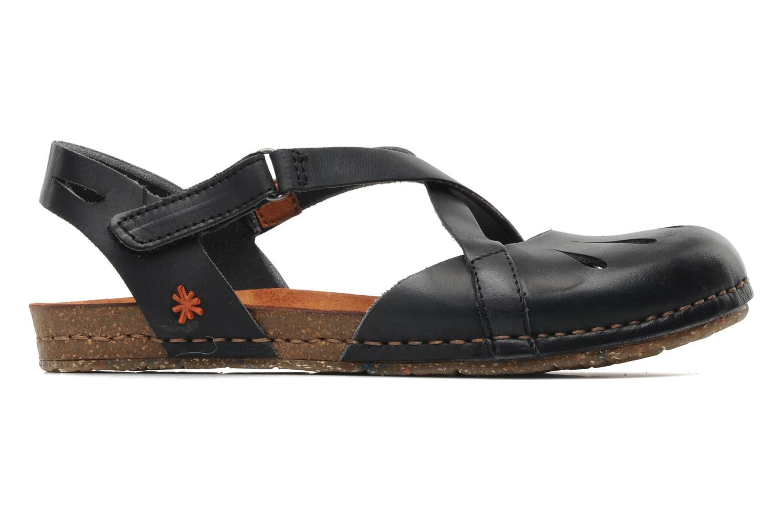 Sandales et nu-pieds Art Creta 449 Noir vue derrière