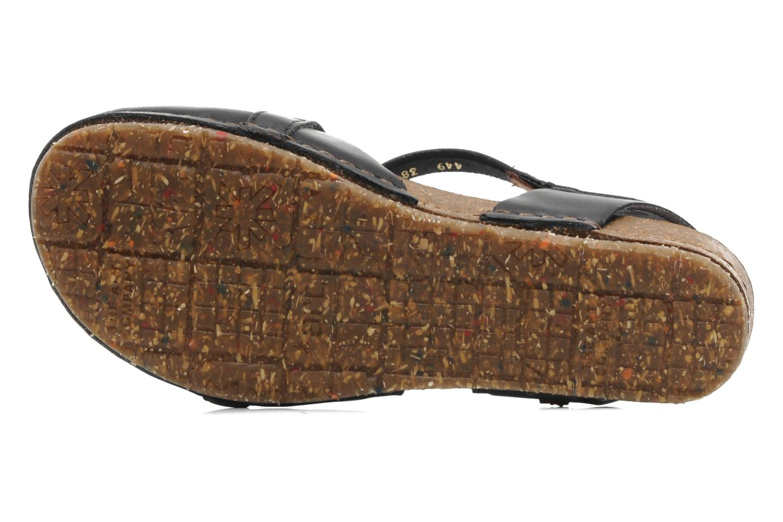 Sandali e scarpe aperte Art Creta 449 Nero immagine dall'alto