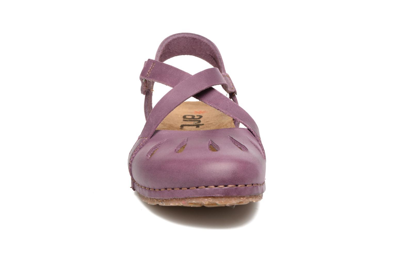 Sandalen Art Creta 449 lila schuhe getragen