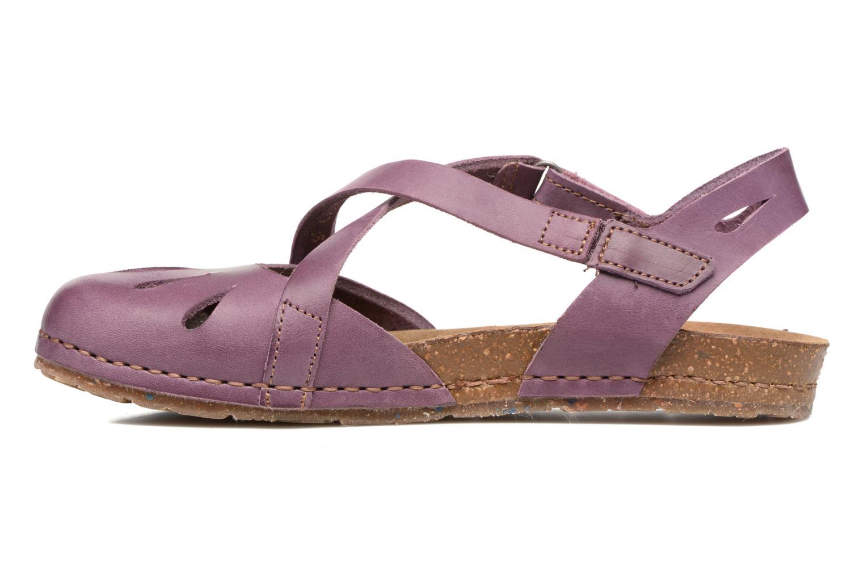 Sandales et nu-pieds Art Creta 449 Violet vue face