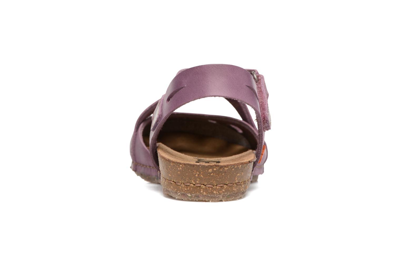 Sandales et nu-pieds Art Creta 449 Violet vue droite