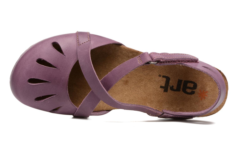 Sandales et nu-pieds Art Creta 449 Violet vue gauche