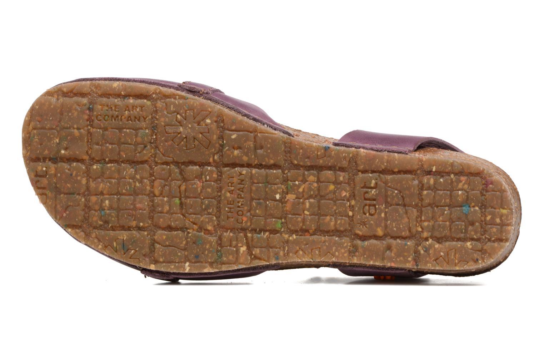 Sandales et nu-pieds Art Creta 449 Violet vue haut