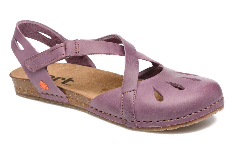 Sandals Art Creta 449 Purple detailed view/ Pair view