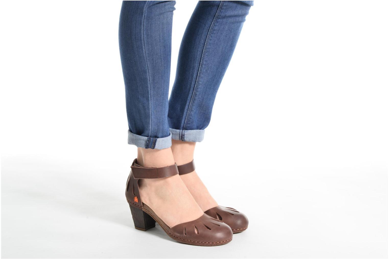 Sandales et nu-pieds Art I Meet 144 Violet vue bas / vue portée sac