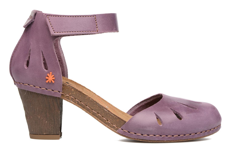 Sandales et nu-pieds Art I Meet 144 Violet vue derrière