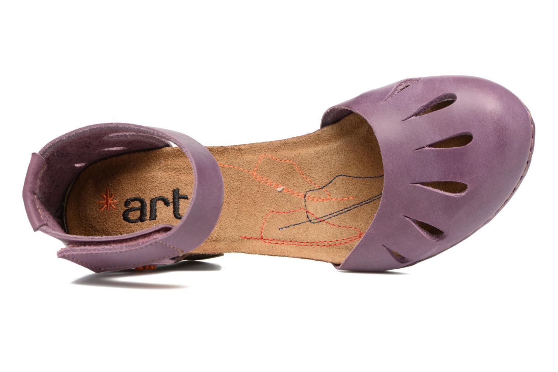 Sandales et nu-pieds Art I Meet 144 Violet vue gauche