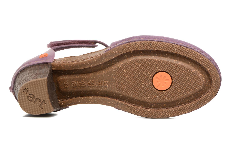 Sandales et nu-pieds Art I Meet 144 Violet vue haut