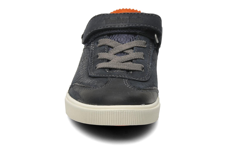 Sneaker Timberland EK Hookset Camp Ox Bungee with Strap blau schuhe getragen