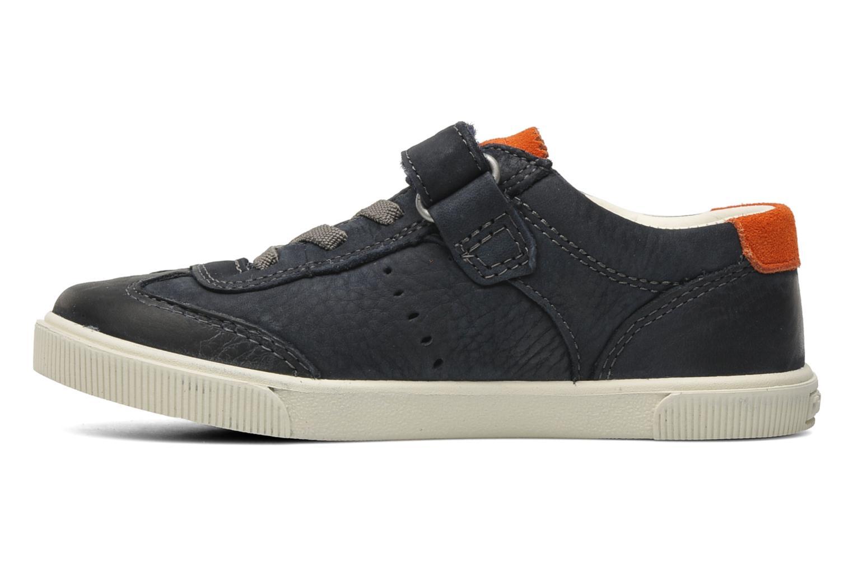 Sneakers Timberland EK Hookset Camp Ox Bungee with Strap Blauw voorkant