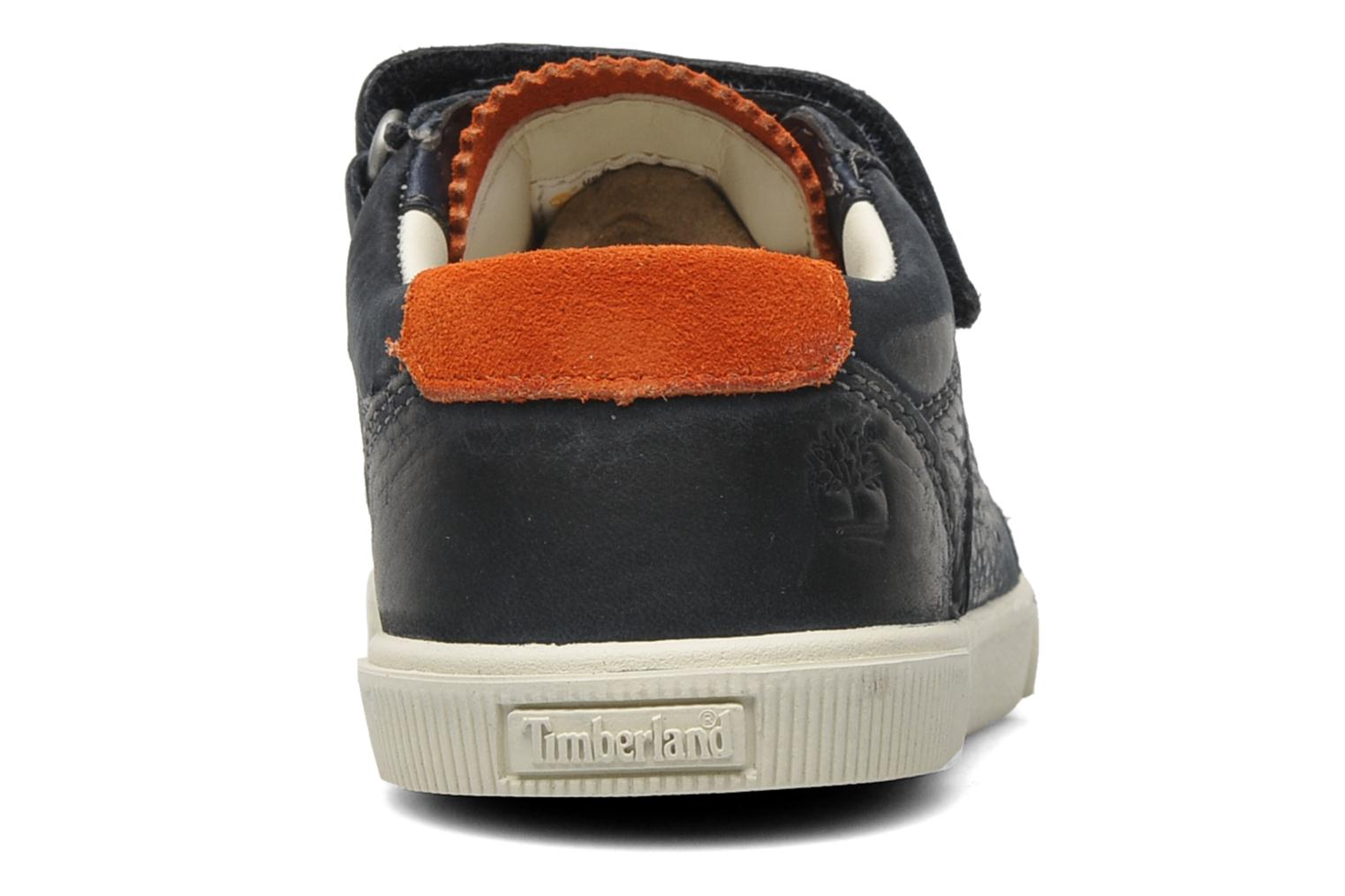 Trainers Timberland EK Hookset Camp Ox Bungee with Strap Blue view from the right