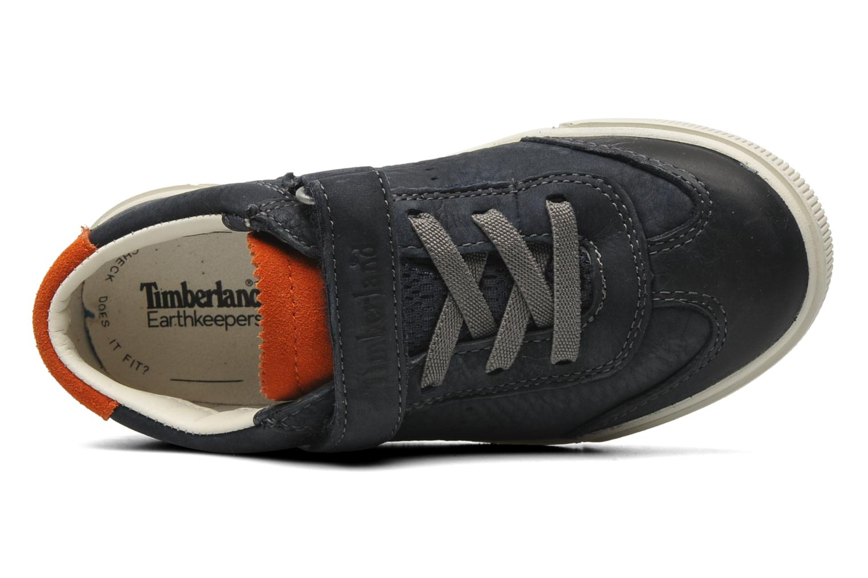 Sneaker Timberland EK Hookset Camp Ox Bungee with Strap blau ansicht von links