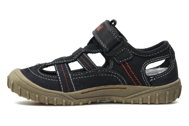 Sneakers Timberland EK Castleton Fisherman Azzurro immagine frontale