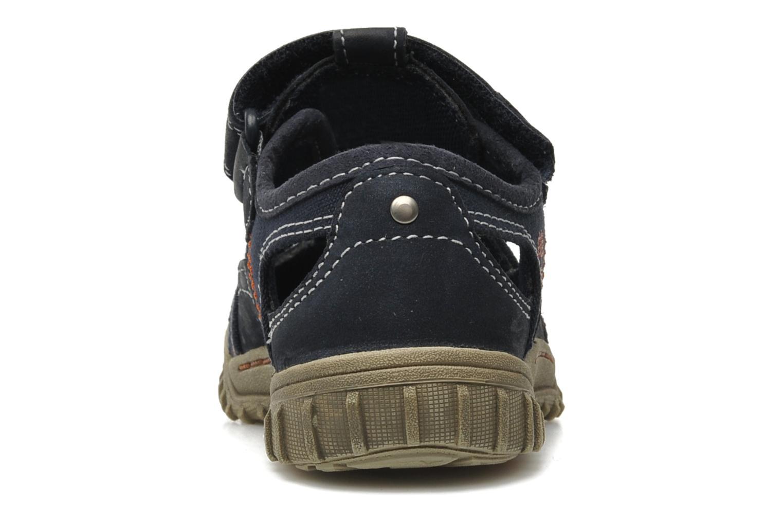 Sneaker Timberland EK Castleton Fisherman blau ansicht von rechts