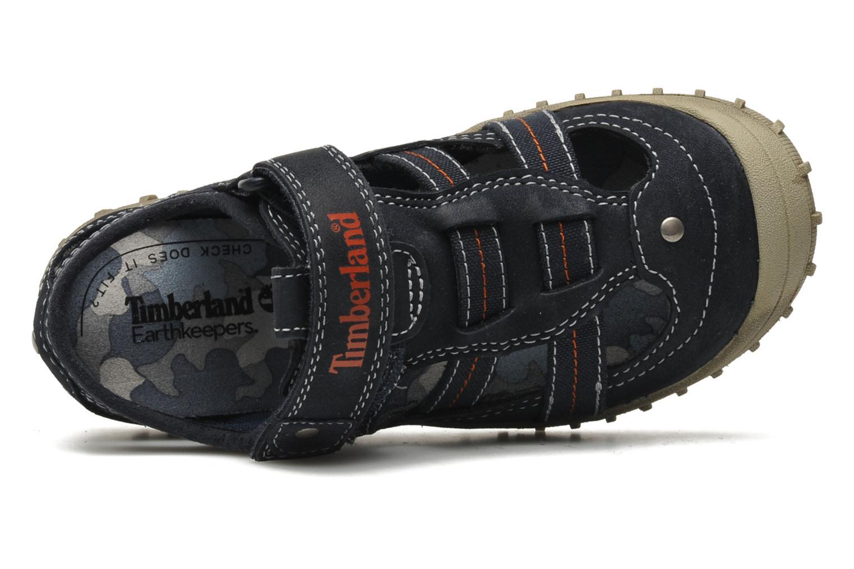 Sneakers Timberland EK Castleton Fisherman Azzurro immagine sinistra