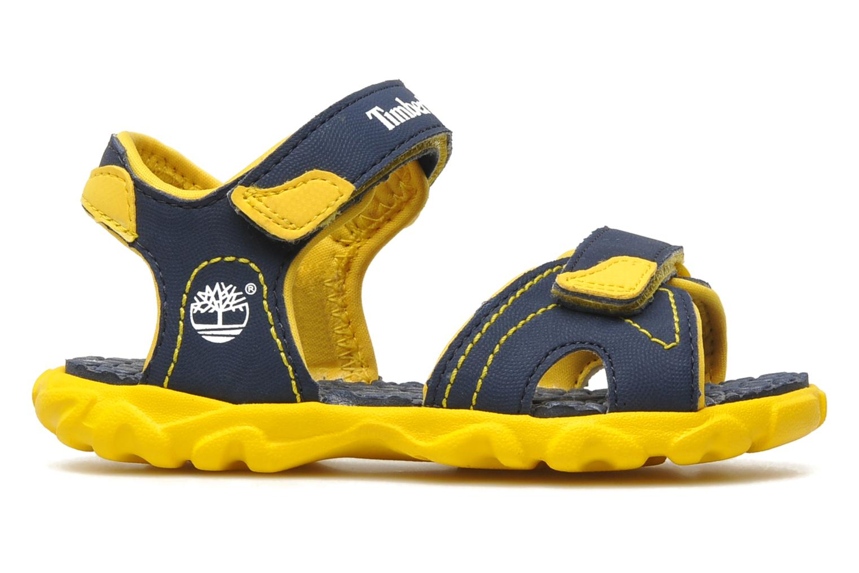 Sandalen Timberland Splashtown 2 Strap Sandal Blauw achterkant