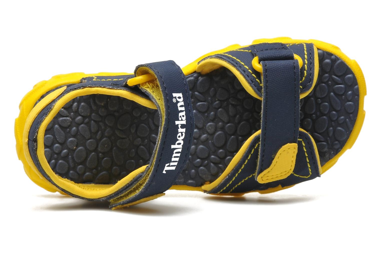 Splashtown 2 Strap Sandal Navy with Yellow
