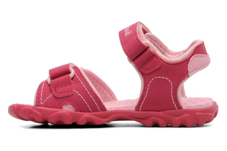 Splashtown 2 Strap Sandal Hot Pink with Pink
