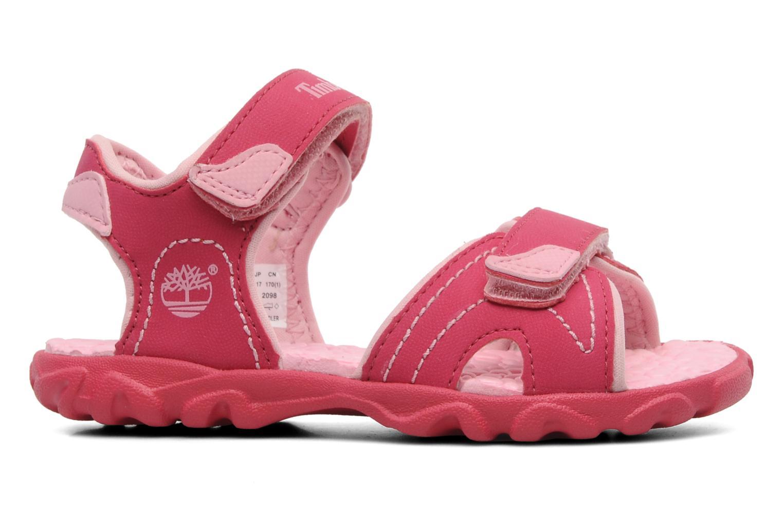 Sandalen Timberland Splashtown 2 Strap Sandal Roze achterkant