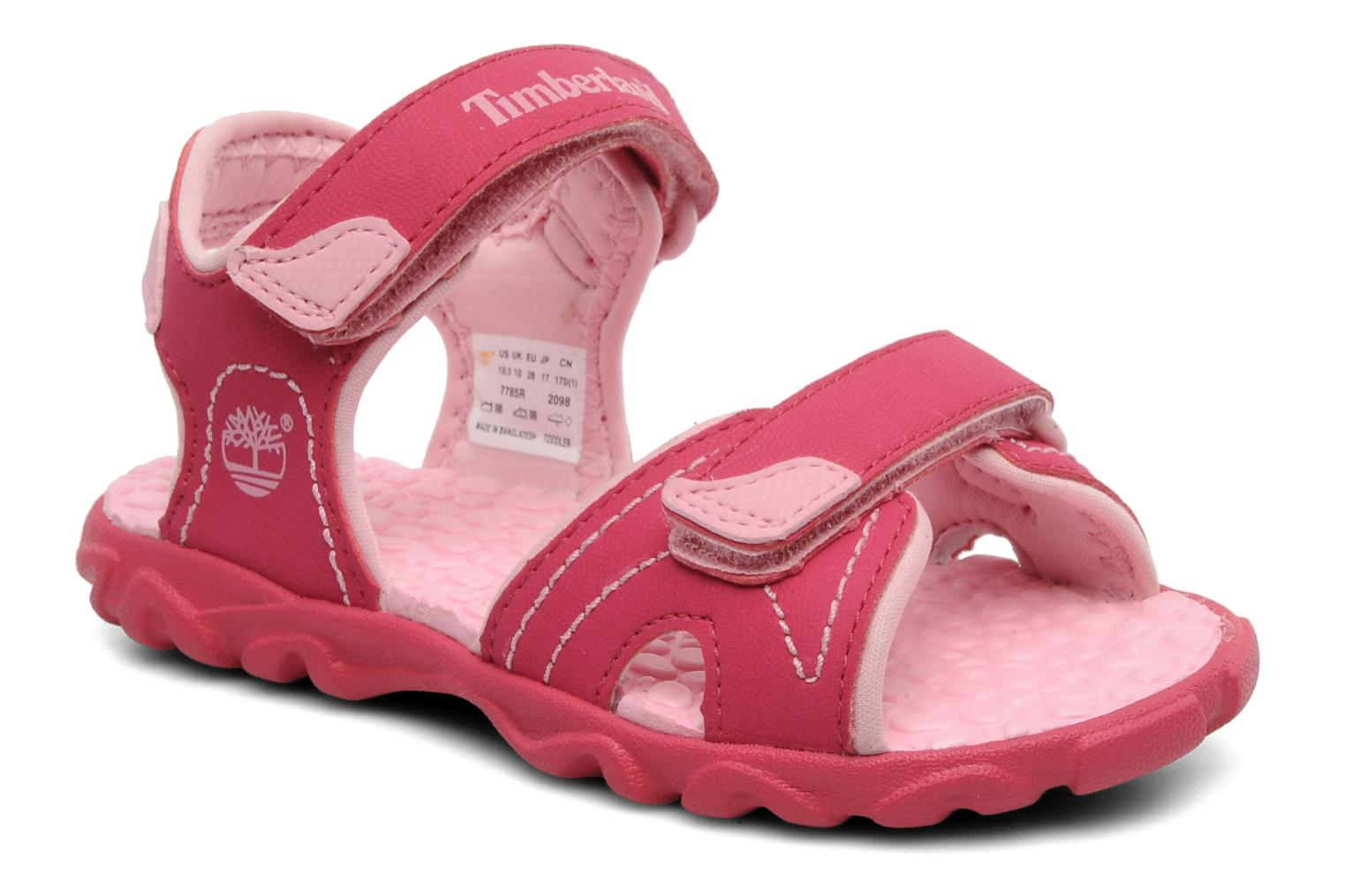 Splashtown 2 Strap Sandal Hot Pink with Pink