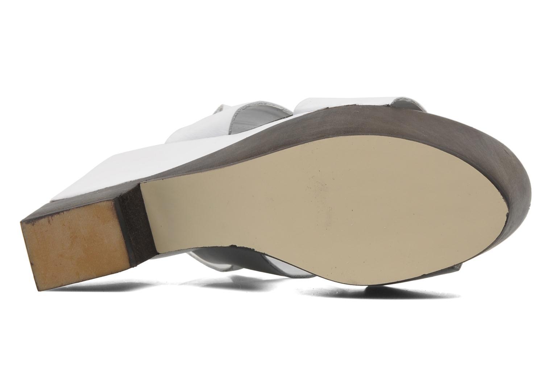 Sandaler Shellys London Valbruna Vit bild från ovan