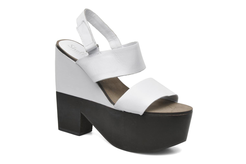 Valbruna Black/White Leather