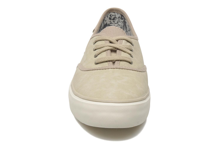 Baskets Esprit Dorena Lu Beige vue portées chaussures