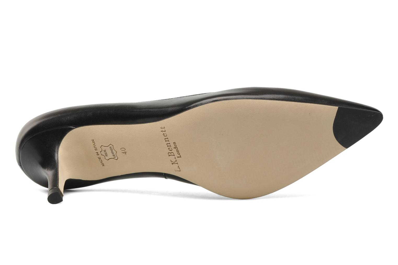 Zapatos de tacón L.K. Bennett Florisa Negro vista de arriba
